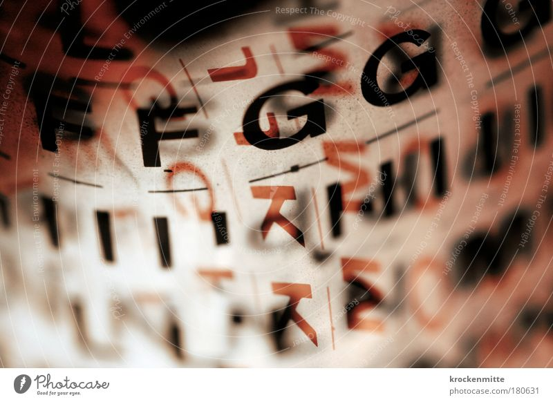Red Black Design Abstract Characters Letters (alphabet) Write I Illustration Deep Creativity Typography Transparent Fashioned Latin alphabet Red undertone