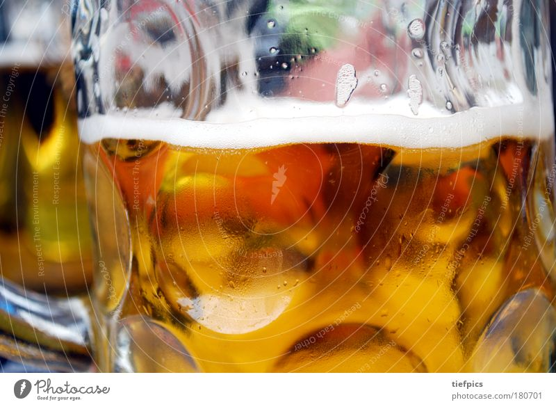 Joy Cold Feasts & Celebrations Glass Gold Fresh Beverage Drinking Gastronomy Beer Fairs & Carnivals Event Alcoholic drinks Bavaria Thirst Night life