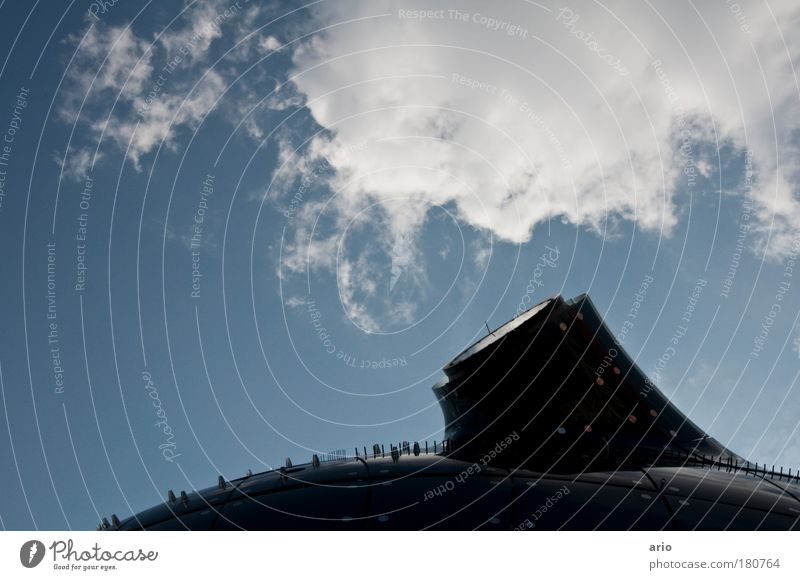 Architecture Style Building Art Elegant Design Graz Roof Communicate Manmade structures Museum Tourist Attraction Extraterrestrial being Federal State of Styria