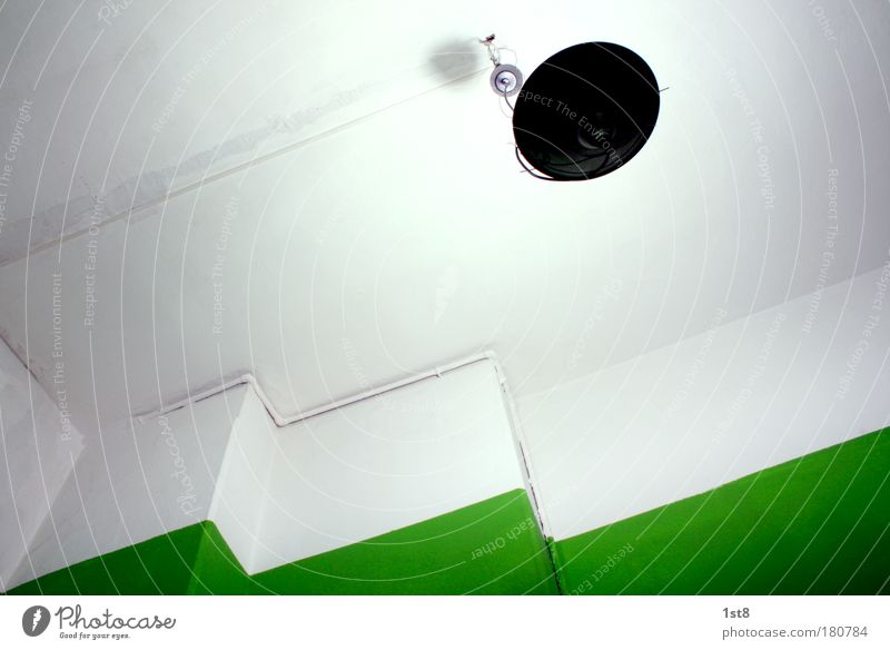 Green Lamp Room Light Ceiling Lampshade Ceiling light