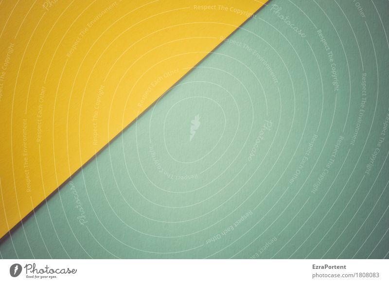 G/B Decoration Line Esthetic Blue Yellow Turquoise Design Colour Advertising Background picture Subsoil Illustration Graphic Paper Diagonal Tilt Colour photo