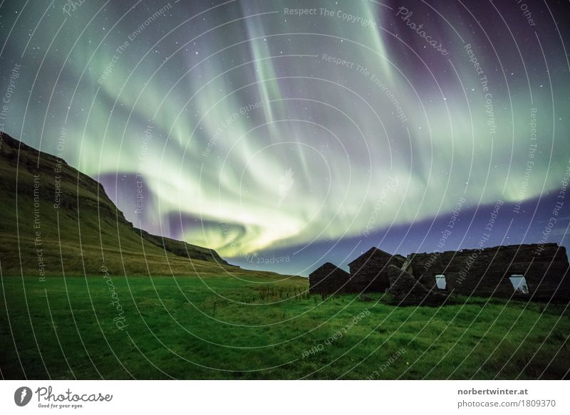 Sky Nature Vacation & Travel Landscape Meadow Adventure Discover Aurora Borealis