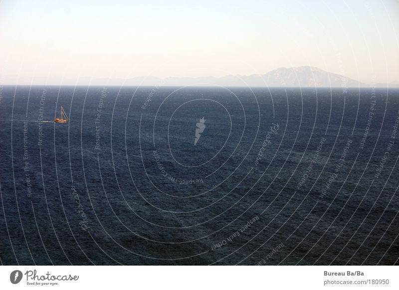 Water Ocean Blue Vacation & Travel Mountain Happy Watercraft Navigation Turkey