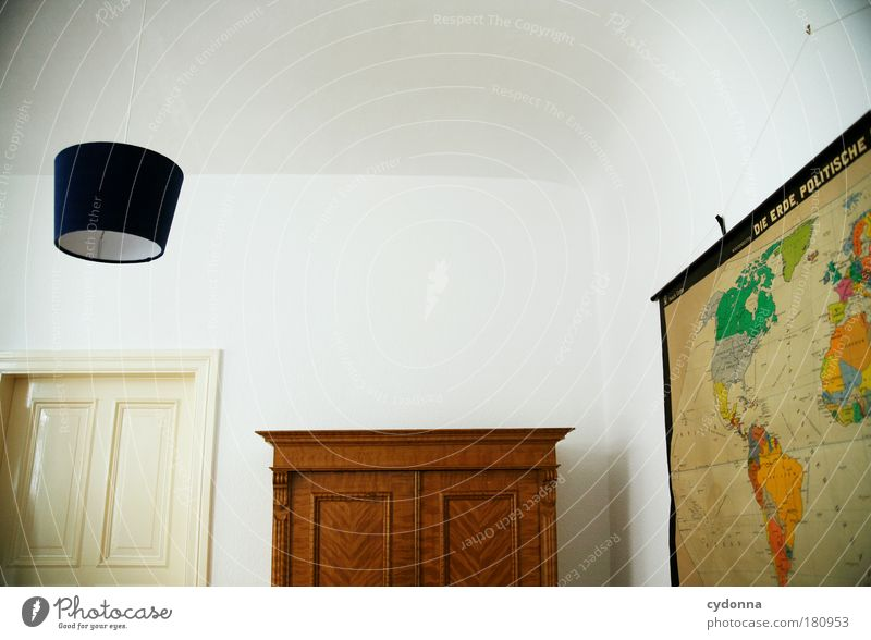 ideology Colour photo Interior shot Detail Deserted Copy Space top Copy Space middle Neutral Background Day Light Shadow Contrast Central perspective
