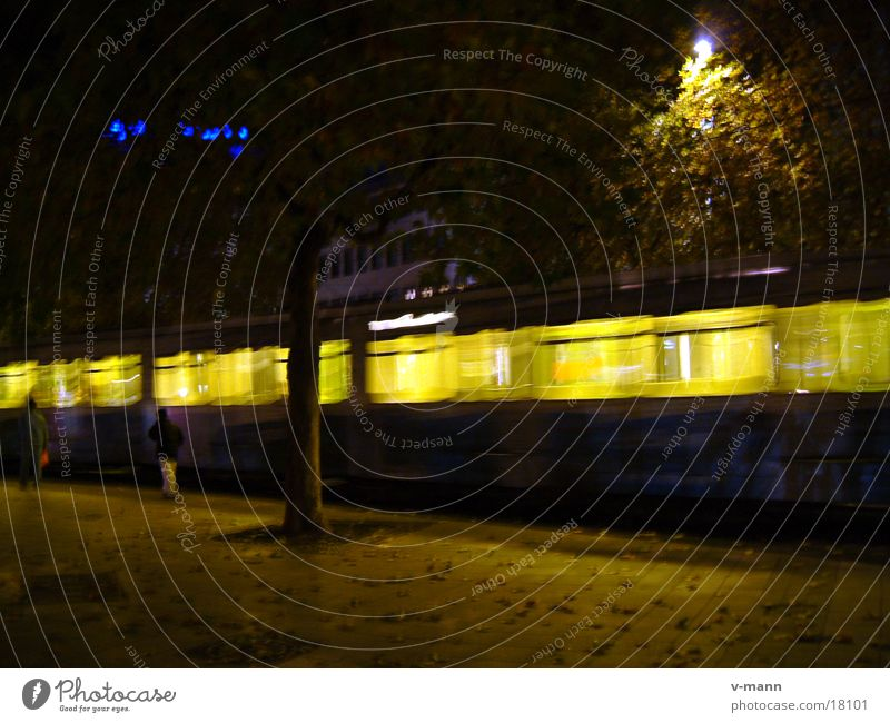 Transport Forwards Hannover Tram Central station