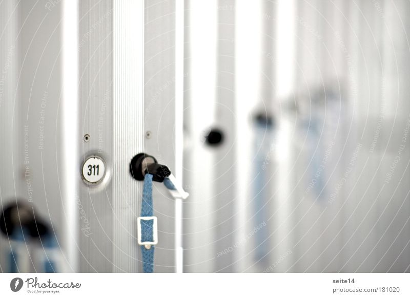 locker Leisure and hobbies Swimming pool Summer Metal Steel Key Utilize Relaxation Hang Dive Clean Blue Gray Arrangement Aluminium Bracelet Digits and numbers