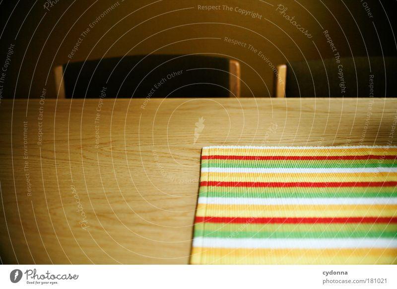 Beautiful Calm Life Dream Line Wait Flat (apartment) Design Time Table Empty Perspective Esthetic Future Kitchen Chair