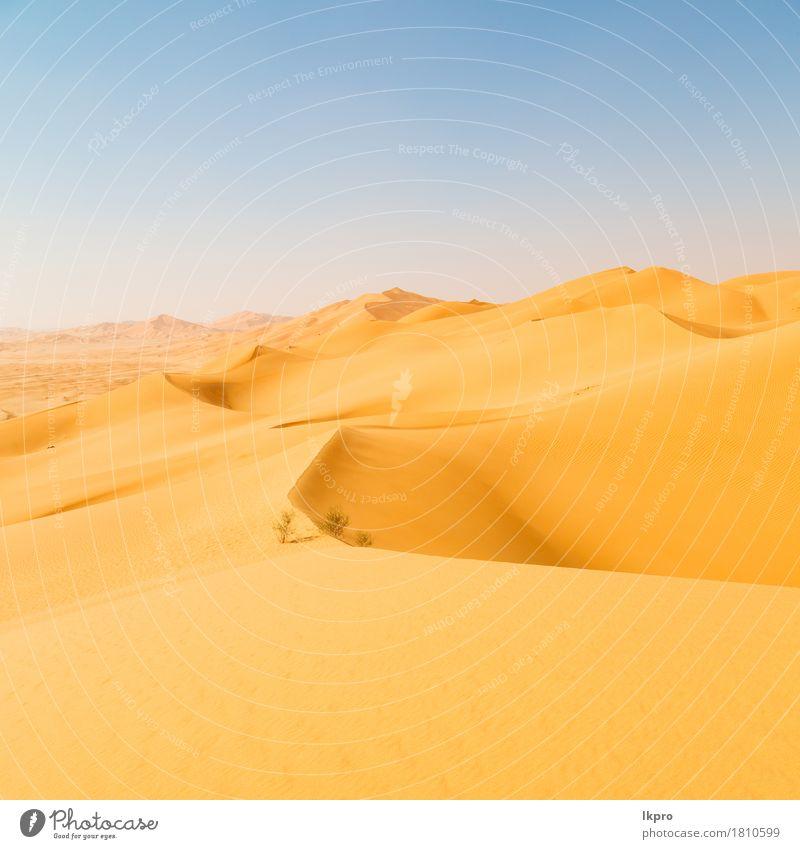 dune in oman old desert rub al khali Sky Nature Vacation & Travel Summer Beautiful White Sun Landscape Loneliness Black Yellow Gray Stone Sand Rock Tourism