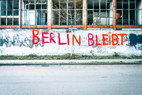 City Loneliness Window Street Architecture Graffiti Lanes & trails Berlin Building Facade Tourism City life Characters Authentic Uniqueness Transience