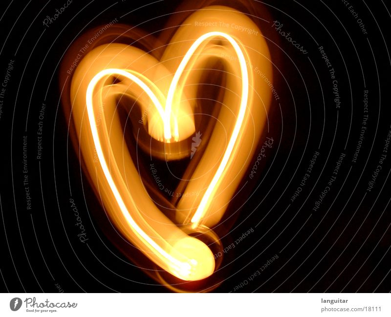 Red Love Dark Emotions Warmth Orange Heart Blaze Candle Romance Warm-heartedness Burn Flame Painted Glow Compassion