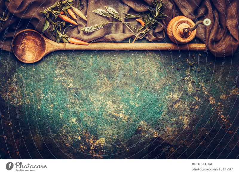 Healthy Eating Dark Dish Background picture Style Food Design Nutrition Shopping Herbs and spices Kitchen Organic produce Restaurant Vintage Spoon Rustic