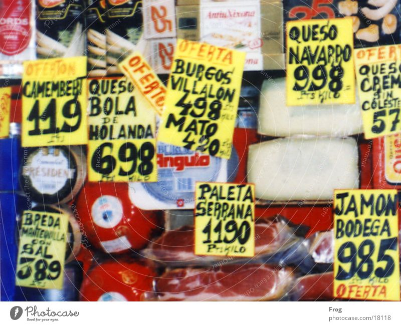 special offer Food Offer Shop window Spain Nutrition