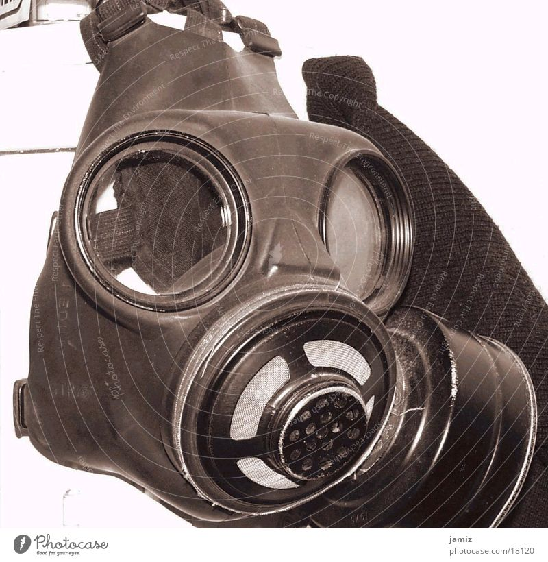 Air can be so dangerous.... Respirator mask Historic