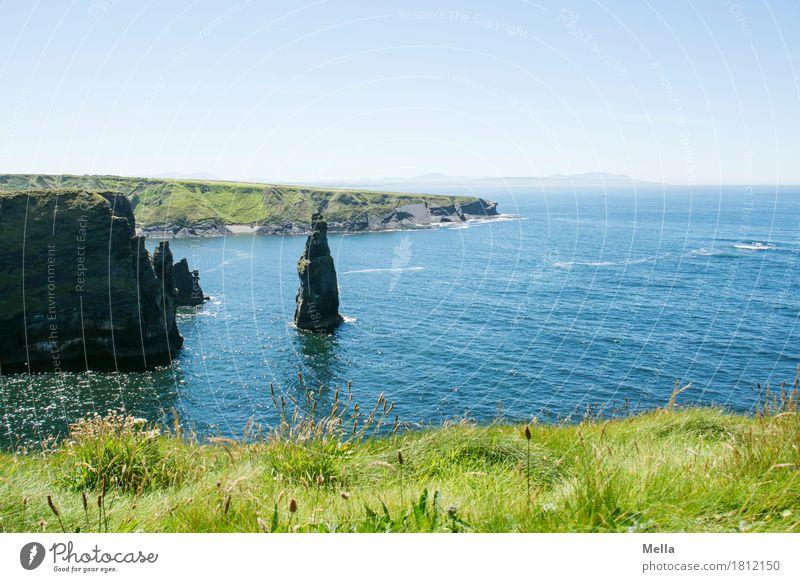 Nature Blue Water Landscape Ocean Relaxation Calm Environment Natural Coast Grass Freedom Rock Tall Bay Maritime