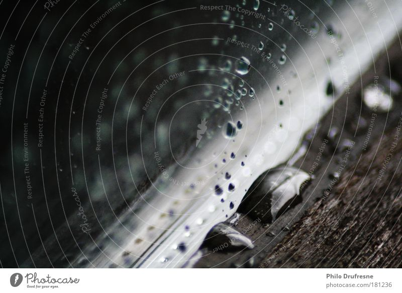Water Black Window Wood Rain Brown Glass Wet Natural Drops of water Thunder and lightning Silver Bad weather Storm clouds