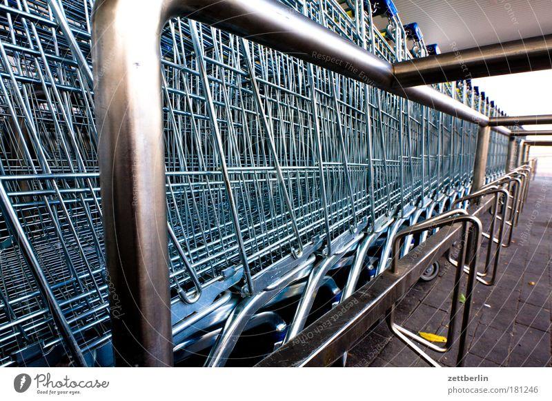 Markets Metal Metalware Fantastic Basket Steel Parking lot Grating Copy Space Supermarket Shopping Trolley Consumption Avaricious Store premises