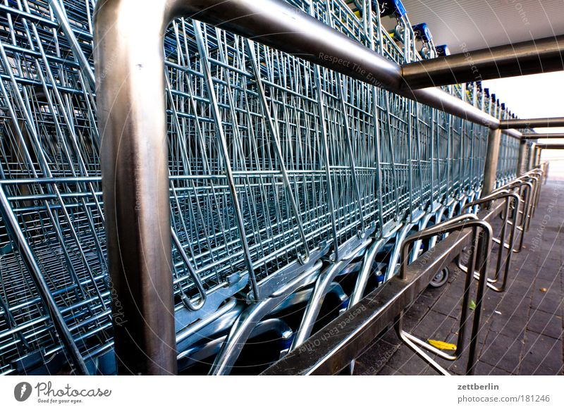 supermarket Shopping Trolley Shopping basket Supermarket shopping mall big purchase Parking lot weekend shopping minimum turnover Consumption consumer society