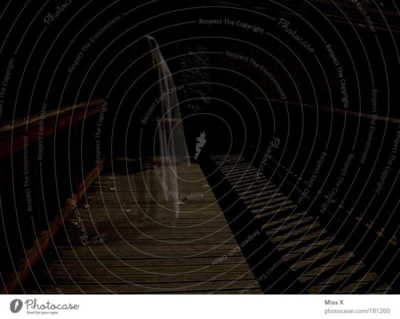 Human being Old Dark Death Dream Fear Fog Threat Colour photo Night sky Creepy Castle Ruin Ghosts & Spectres  Fear of death