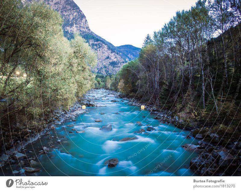 go with the flow Environment Nature Landscape Plant Water Waves River Ötztaler Ache Blue Brown 2016 sickline Austria Ötz Valley Burtea Photography