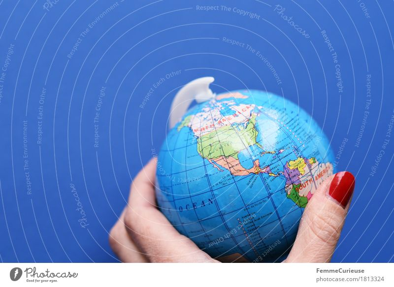 Globe_1813324 Climate Climate change Earth Tourism USA Mexico California Canada Americas Topography To hold on Stagnating Hand Fingers Globalization English