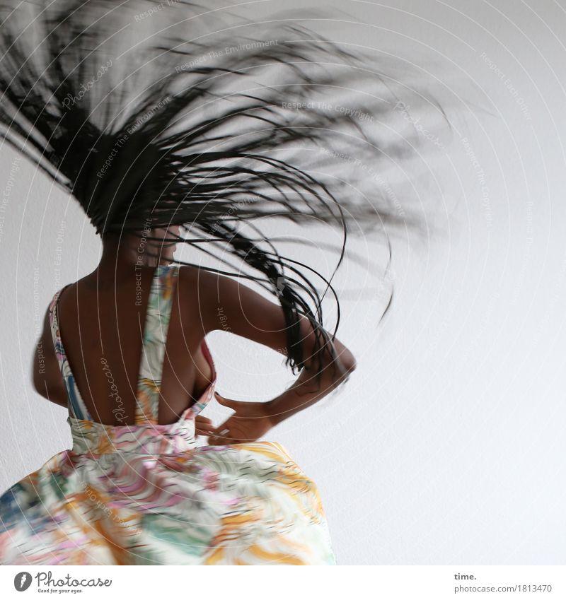 Human being Woman Beautiful Joy Adults Life Movement Feminine Exceptional Moody Wild Elegant Esthetic Power Creativity Dance