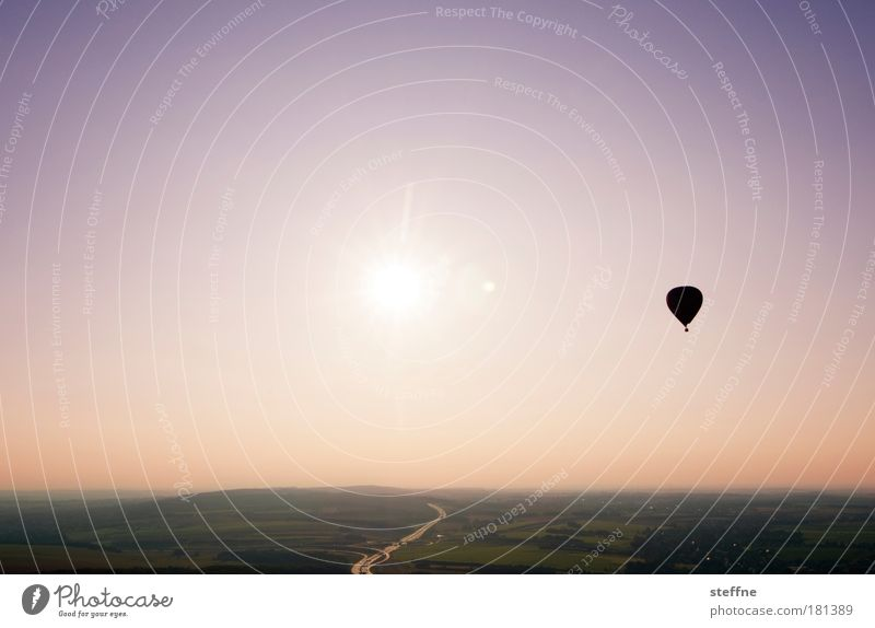 Landscape Adventure Joie de vivre (Vitality) Hot Air Balloon Beautiful weather Spring fever