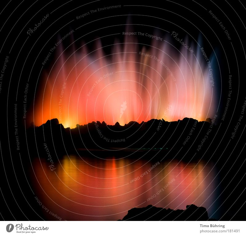 at the end of the rainbow Colour photo Multicoloured Exterior shot Abstract Deserted Copy Space middle Neutral Background Night Shadow Contrast Reflection