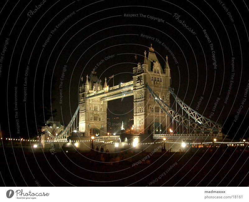 London #3 Tower Bridge Europe Night shot city by night