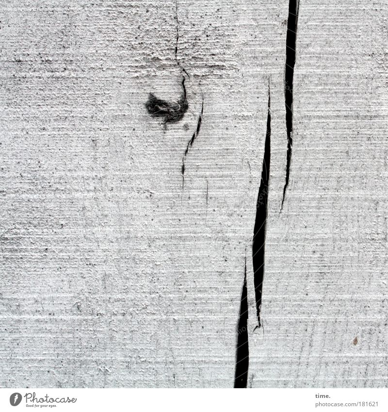 Old White Wood Dye Natural Authentic Firm Material Crack & Rip & Tear Column Torn Wood grain Wooden wall Knothole Canceled Whitewashed