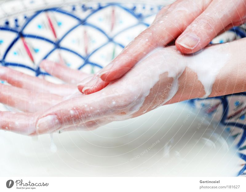 Milk and honey Beautiful Personal hygiene Manicure Cosmetics milk bath Skin care Yoghurt Wash Swimming & Bathing Wellness Harmonious Human being Feminine