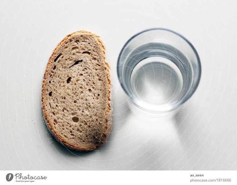 Water Calm Healthy Food Brown Lie Nutrition Glass Authentic Stand Poverty Simple Beverage Pure Appetite Bread