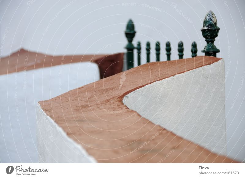 Loneliness Wall (building) Garden Wall (barrier) Architecture Closed Lifestyle Perspective Protection Living or residing Uniqueness Mysterious Entrance Fence