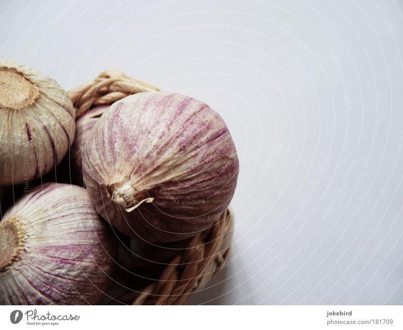 Knob Plant Garlic Clove of garlic Garlic bulb Bowl Basket Fragrance To enjoy Healthy Life Nature Odor Kitchen Pink Round 3 Herbs and spices Medicinal plant