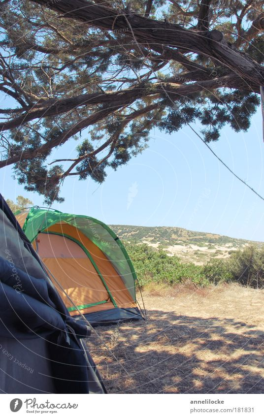 natural tenting Exterior shot Deserted Copy Space right Day Light Shadow Sunlight Deep depth of field Relaxation Calm Vacation & Travel Tourism Trip Adventure