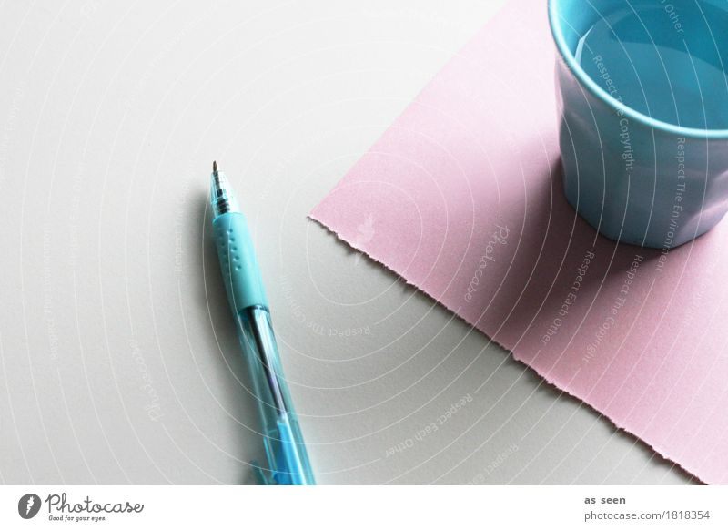 Order in pastel Calm Leisure and hobbies Living or residing Education Science & Research School Study Classroom Workplace Office Media industry Stationery Paper