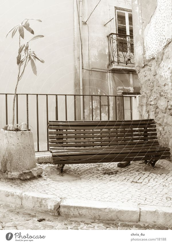 Sit down and have a rest Portugal Lisbon Things District Alfama typical street scene