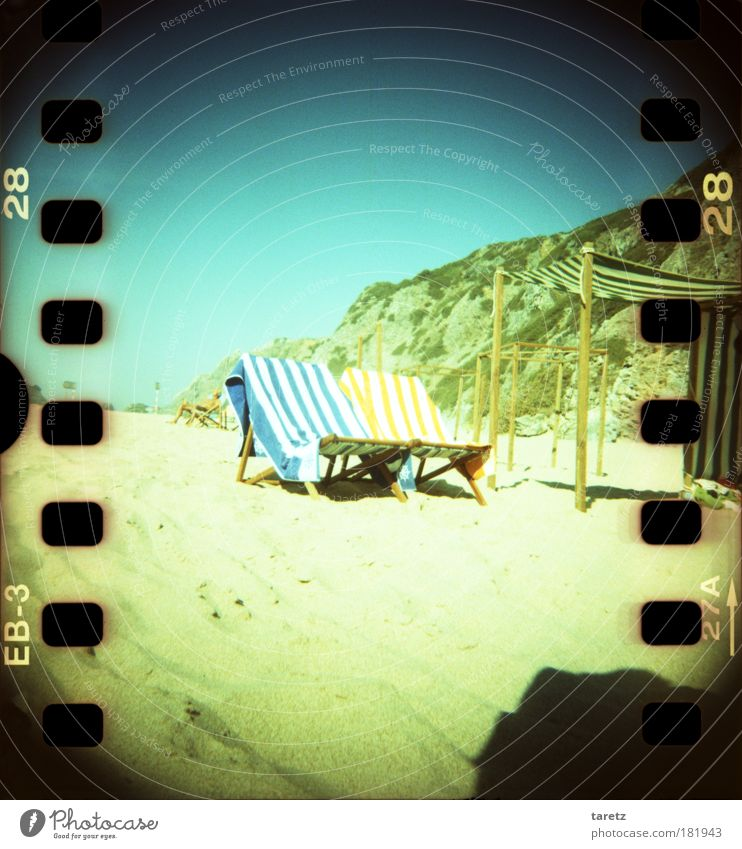 Summer Beach Calm Sand Contentment Rock Lomography Stripe Letters (alphabet) Digits and numbers Cloth Joy Joie de vivre (Vitality) Well-being Beautiful weather Striped