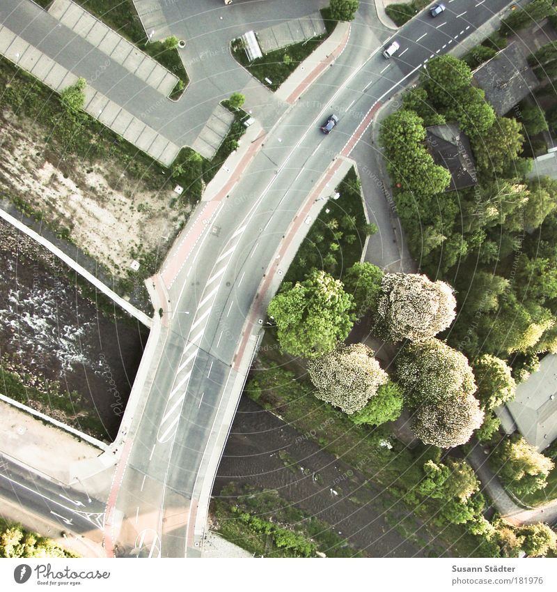 Tree Plant Street Meadow Lanes & trails Car Park Waves Flying Trip Aviation Bridge Beautiful weather Driving Arrow Bird's-eye view