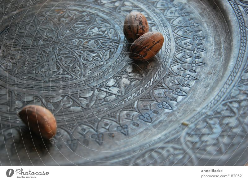 oo oo Colour photo Interior shot Close-up Day Shallow depth of field pecan nut Nut Nutshell Plate Bowl Lifestyle Elegant Arrange Feasts & Celebrations