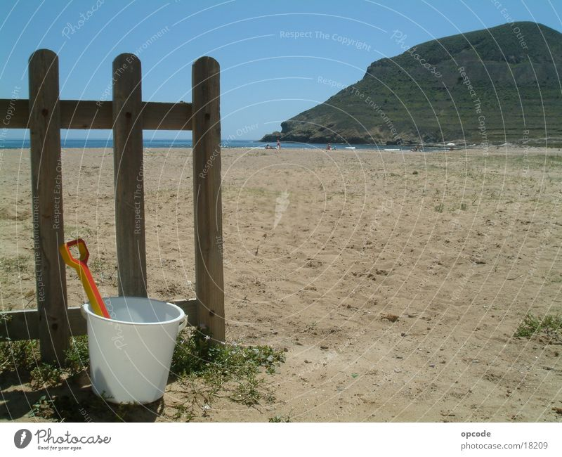 Andalusia, on the beach Spain Vacation & Travel Beach Ocean Europe Sand