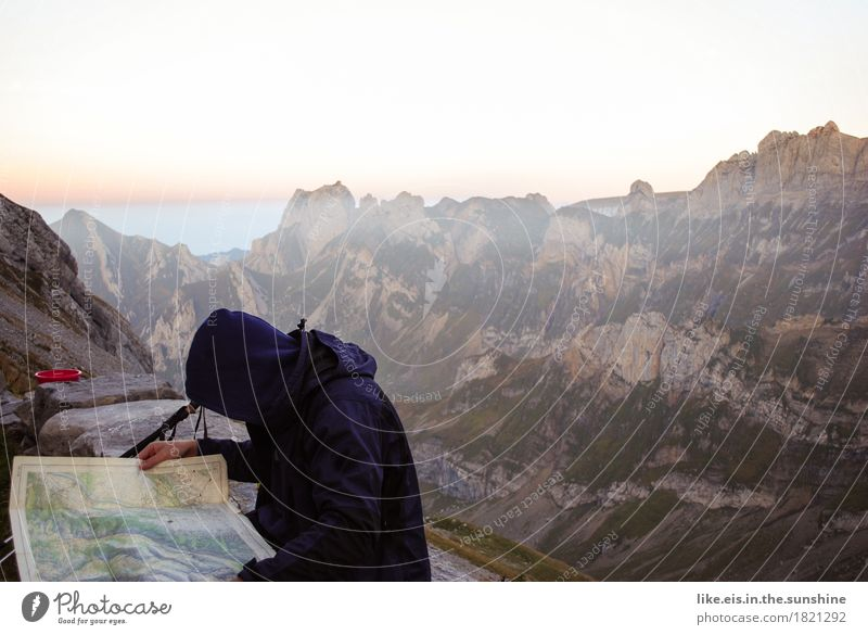 forge plans Vacation & Travel Trip Adventure Far-off places Mountain Hiking Climbing Mountaineering Masculine Androgynous Man Adults Life 1 Human being