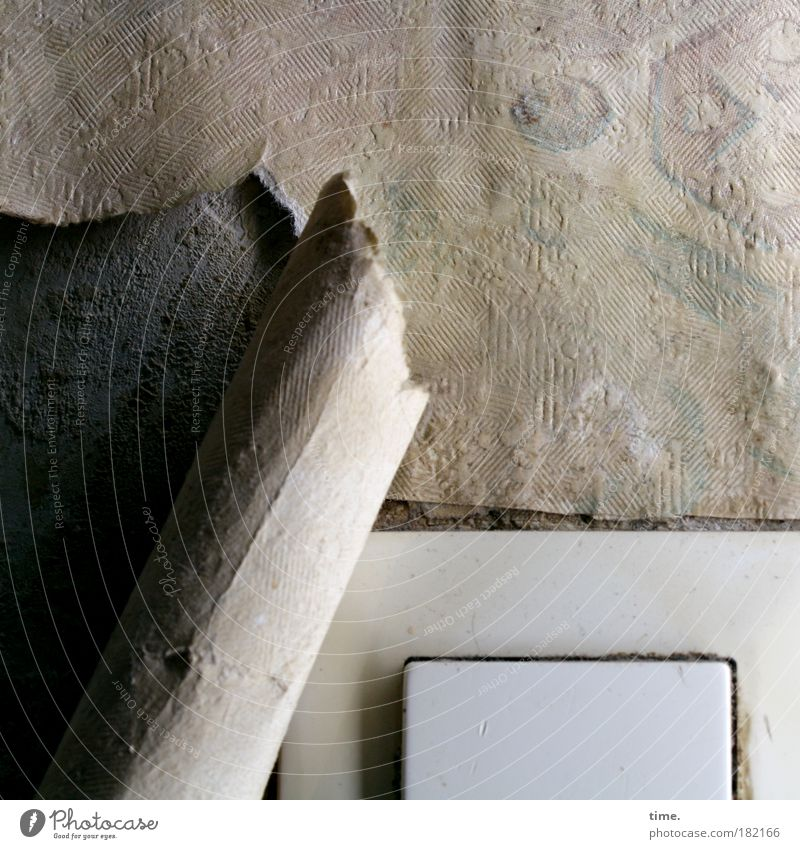 Wall (building) Flat (apartment) Paper Cloth Wallpaper Craft (trade) Damp Easy Cardboard Nostalgia Crack & Rip & Tear Redecorate Plaster Electric Redevelop