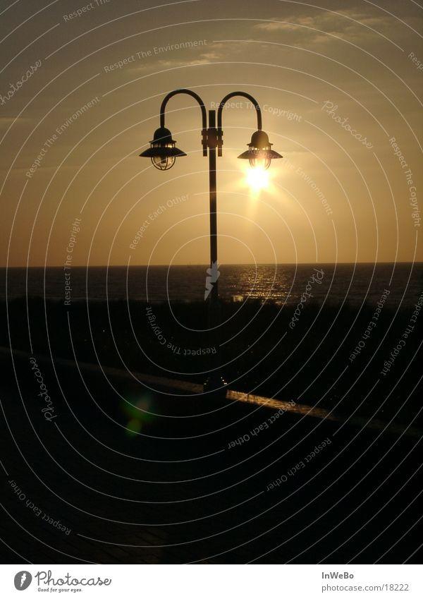 Sun lamp II Sunset Street lighting Twilight Dusk Dark Leisure and hobbies
