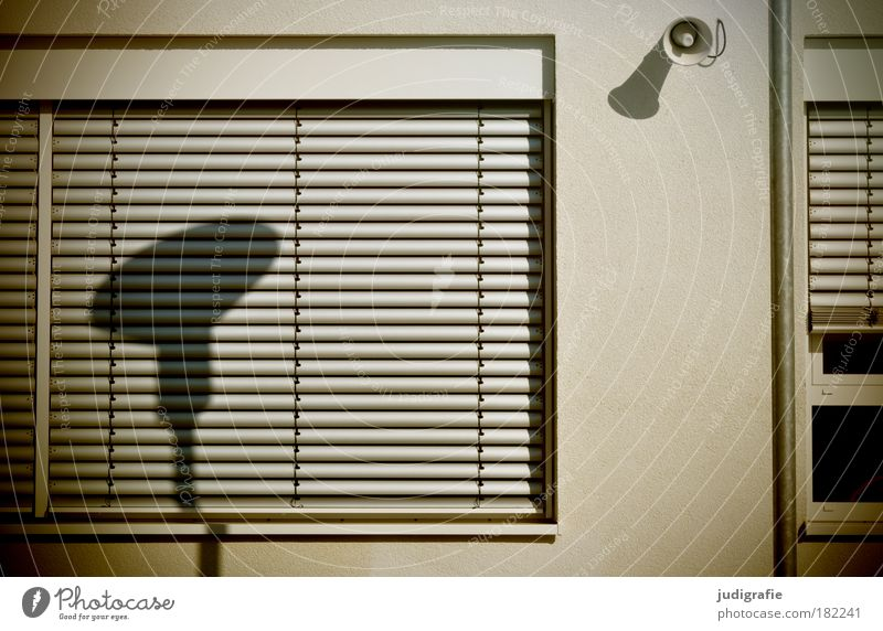 City Calm House (Residential Structure) Window Building Facade School building Education Manmade structures Loudspeaker Venetian blinds Schoolyard
