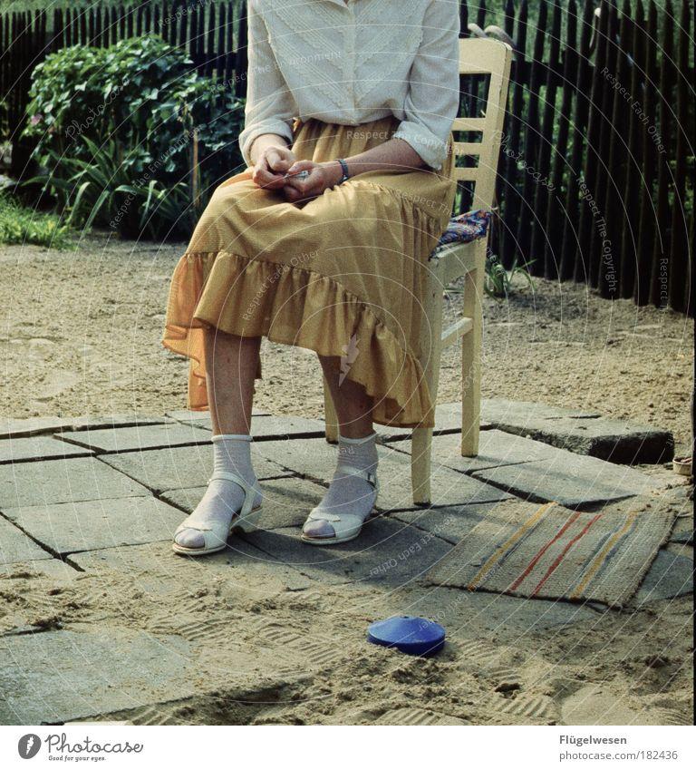 Beautiful Loneliness Feminine Sand Stone Sit Wait Lifestyle Hope Chair Romance Sidewalk Skirt Infatuation Doormat Dream woman