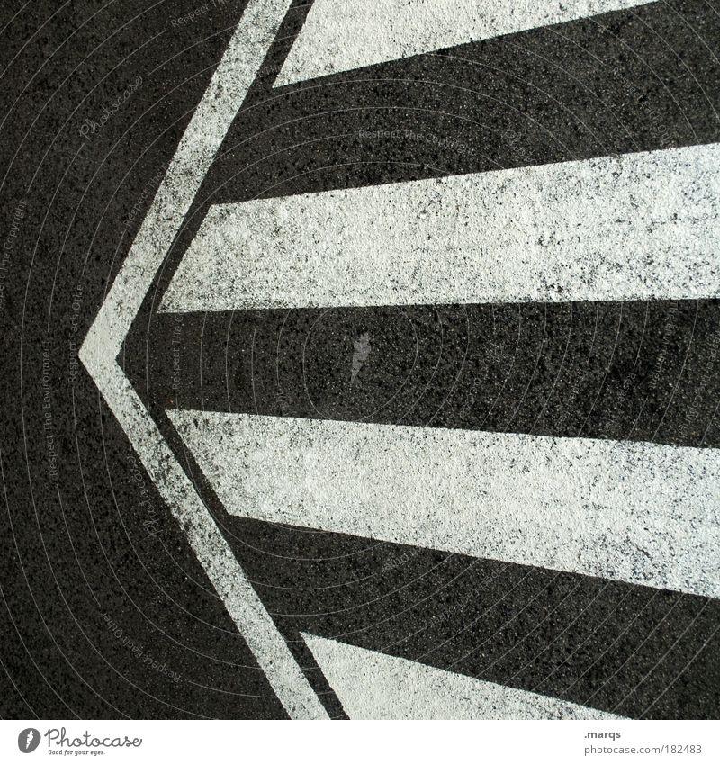 <= Black & white photo Interior shot Abstract Pattern Deserted Bird's-eye view Mathematics Transport Traffic infrastructure Road traffic Motoring Street