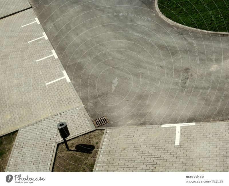 chaos follows structure Exterior shot Detail Aerial photograph Abstract Pattern Structures and shapes Deserted Copy Space left Copy Space right Copy Space top