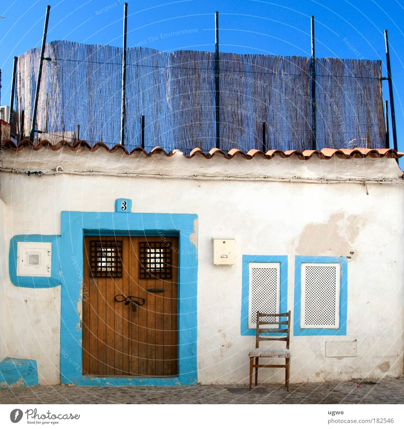 Beautiful White Blue Colour Life Bright Moody Door Safety Romance Living or residing Hut Beautiful weather