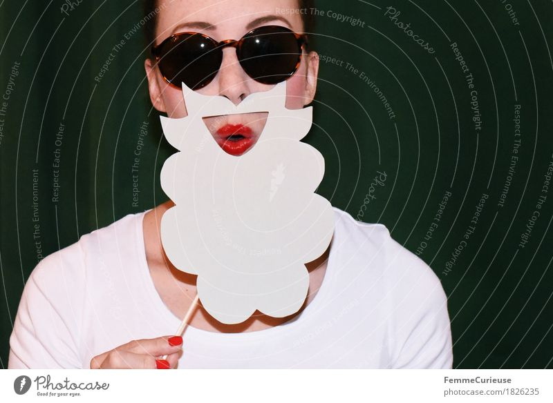Human being Woman Youth (Young adults) Young woman White Red Joy 18 - 30 years Adults Feminine Gray Party Masculine Creativity Paper To hold on