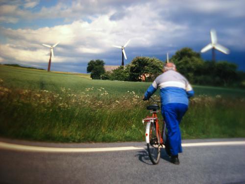Senior citizen Energy industry Human being Wind energy plant Renewable energy Energy crisis